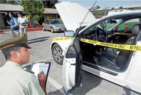 Para cuidar el auto de los robos